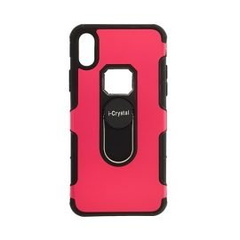I-Crystal Back Case for Apple iPhone X / Xs - Color: Red