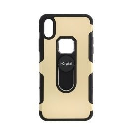 I-Crystal Back Case for Apple iPhone X / Xs - Color: Gold