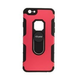 I-Crystal Back Case for Apple iPhone 6 / 6S 4.7 inches - Color: Red
