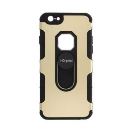 I-Crystal Back Case for Apple iPhone 6 / 6S 4.7 inches - Color: Gold