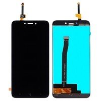 LCD Screen with Touch Mechanism for Xiaomi Redmi 4X - Color: Black