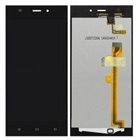 LCD screen with Touch Mechanism for Xiaomi Mi3 - Color: Black