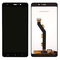 LCD screen with Touch Mechanism for Xiaomi MI 5S Plus - Color: Black