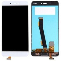 LCD screen with Touch Mechanism for Xiaomi MI 5S - Color: White