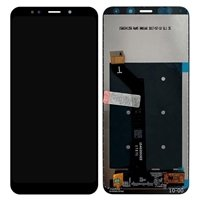 LCD screen with Touch Mechanism for Xiaomi Redmi 5 Plus - Color: Black