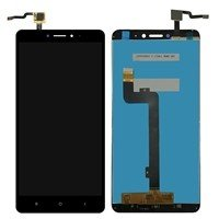 LCD screen with Touch Mechanism for Xiaomi MI Max 2 - Color: Black