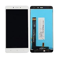 LCD screen with Touch Mechanism for Xiaomi Redmi Note 4 - Color: White