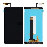 LCD screen with Touch Mechanism for Xiaomi MI Note 3 - Color: Black
