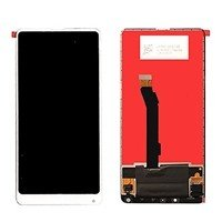 LCD screen with Touch Mechanism for Xiaomi MI Mix 2S - Color: White