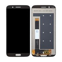 LCD Screen with Touch Mechanism for Xiaomi Black Shark - Color: Black