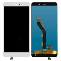 LCD screen with Touch Mechanism for Xiaomi MI 5S Plus - Color: White