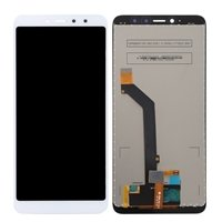 LCD screen with Touch Mechanism for Xiaomi Redmi S2 - Color: White