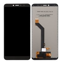 LCD Screen with Touch Mechanism for Xiaomi Redmi S2 - Color: Black