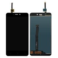 LCD screen with Touch Mechanism for Xiaomi Redmi 4A - Color: Black