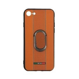 Weimi Back Case With Stand for Apple iPhone 7/8 4.7 inches - Color: Orange