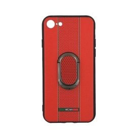 Weimi Back Case With Stand for Apple iPhone 7/8 4.7 inches - Color: Red