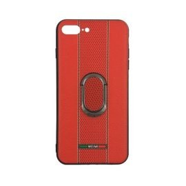 Weimi Back Case With Stand for Apple iPhone 7 Plus / 8 Plus 5.5 inches - Color: Red