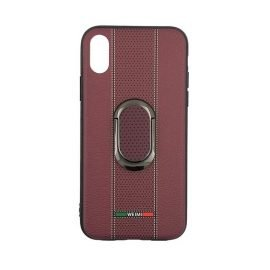 Weimi Back Case With Stand for Apple iPhone X / Xs - Color: Purple