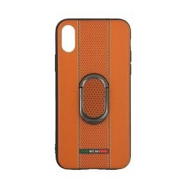 Weimi Back Case With Stand for Apple iPhone X / Xs - Color: Orange