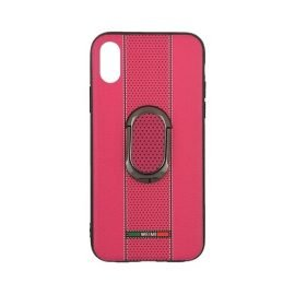 Weimi Back Case With Stand for Apple iPhone X / Xs - Color: Pink