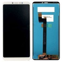 LCD screen with Touch Mechanism for Xiaomi MI Max 3 - Color: White