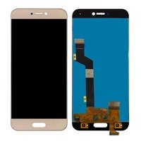 LCD screen with Touch Mechanism for Xiaomi MI 5C - Color: Gold