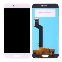 LCD screen with Touch Mechanism for Xiaomi MI 5C - Color: White