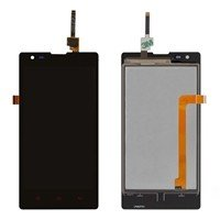 LCD Screen with Touch Mechanism for Xiaomi Redmi 1S - Color: Black