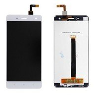LCD screen with Touch Mechanism for Xiaomi MI4 - Color: White
