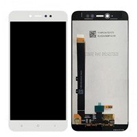 LCD screen with Touch Mechanism for Xiaomi Redmi Note 5A Prime - Color: White