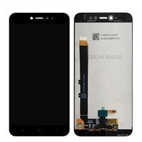LCD Screen with Touch Mechanism for Xiaomi Redmi Note 5A Prime - Color: Black