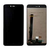 LCD screen with Touch Mechanism for Xiaomi Redmi Note 5A - Color: Black