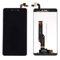 LCD Screen with Touch Mechanism for Xiaomi Redmi Note 4X (Redmi Note 4 Snapdragon CPU) - Color: Black