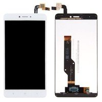 LCD Screen with Touch Mechanism for Xiaomi Redmi Note 4X (Redmi Note 4 Snapdragon CPU) - Color: White
