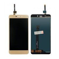 LCD screen with Touch Mechanism for Xiaomi Redmi 4A - Color: Gold