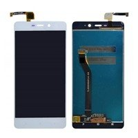 LCD screen with Touch Mechanism for Xiaomi Redmi Note 3 Pro - Color: White - Dimensions: 152 X 76 X 8.65