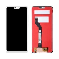 LCD screen with Touch Mechanism for Xiaomi Mi 8 Lite - Color: White