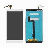 LCD screen with Touch Mechanism for Xiaomi MI Max - Color: White