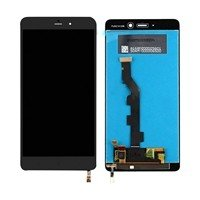 LCD Screen with Touch Mechanism for Xiaomi MI Note - Color: Black