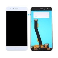 LCD screen with Touch Mechanism for Xiaomi MI6 - Color: White