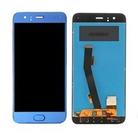 LCD screen with Touch Mechanism for Xiaomi Mi 6 - Color: Blue