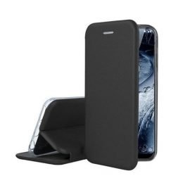 OEM Smart Magnet Elegance Book Case for Apple iPhone X / XS - Color: Black