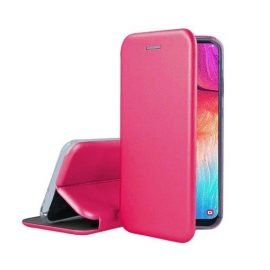 OEM Smart Magnet Elegance Book Case for Apple iPhone 7 Plus / 8 Plus - Color: Pink