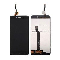 LCD Screen with Touch Mechanism for Xiaomi Redmi Go - Color: Black