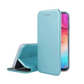 OEM Smart Magnet Elegance Book Case for Apple iPhone X / XS - Color: Light Blue