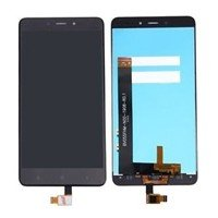 LCD Screen with Touch Mechanism for Xiaomi RedMi Note 4 - Color: Black