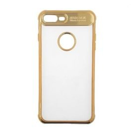 Auto Focus Back Case for Apple iPhone 7 Plus / 8 Plus - Color: Gold