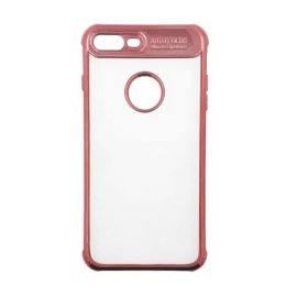 360 Full Protection Silicone Case for Apple iPhone 8 Plus - Color: Red