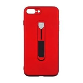 Hybrid Armor Case with Air Cushion for Apple iPhone 7 Plus / 8 Plus - Color: Red