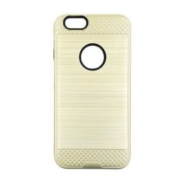 Tough Brushed Cover Backpack for Apple iPhone 6 / 6s - Color: Gold